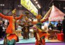 Tarian Tradisional Karnaval  Lukisan Pacar hingga Kopi Indonesia dan Minuman Herbal Jadi Daya Tarik Utama di Pameran Wisata Madrid