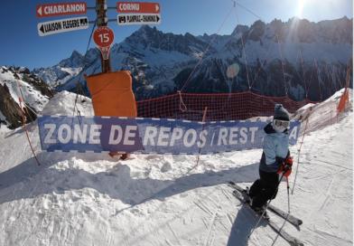 Asiknya Berski di Chamonix Sambil Memandang Gunung Alpen!