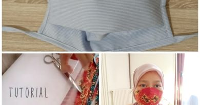 Desi,WNI yang Ikut Membuat Masker untuk Disumbangkan melalui Yayasan di Prancis