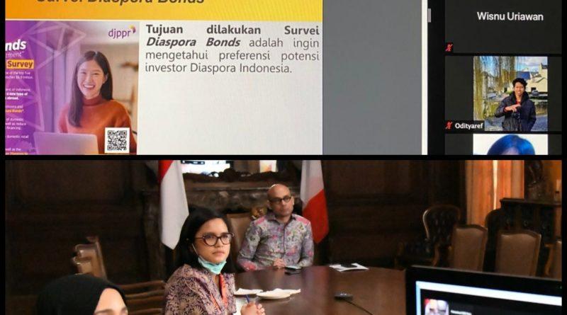 Diaspora Bond Investasi Menarik bagi Diaspora Indonesia di Prancis