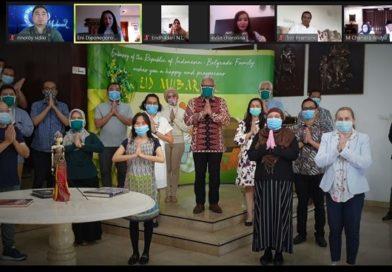 Akibat Corona Masyarakat Indonesia di Serbia dan Montenegro Rayakan Lebaran Secara Daring