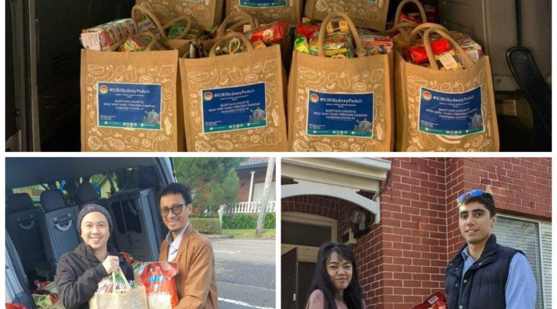 KJRI Sydney Distribusikan Paket Bantuan Ringankan Beban Para WNI Menghadapi Pandemi