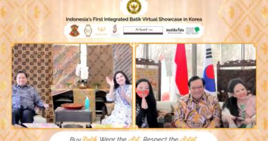 KBRI Seoul Raih Transaksi lebih dari 1 Milyar Rupiah Berkat Gelar Promo Batik