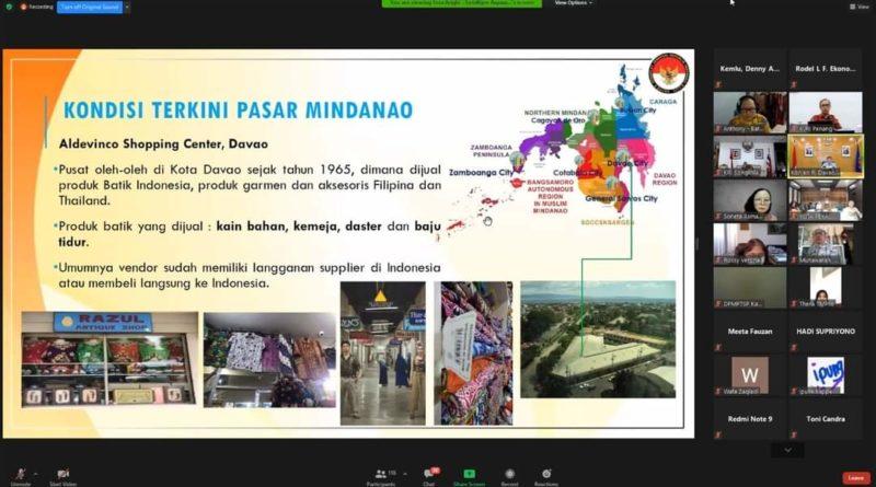 Pakaian Muslim dan Batik Indonesia Memiliki Peluang Pasar di Mindanao