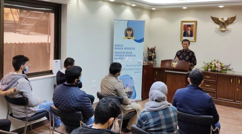Masyarakat Suriah Antusias Belajar Bahasa Indonesia