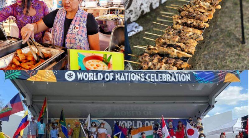 Nasi Uduk dan Sate Jadi Makanan Favorit Di Word Of Nation Celebration Jacksonville, Florida