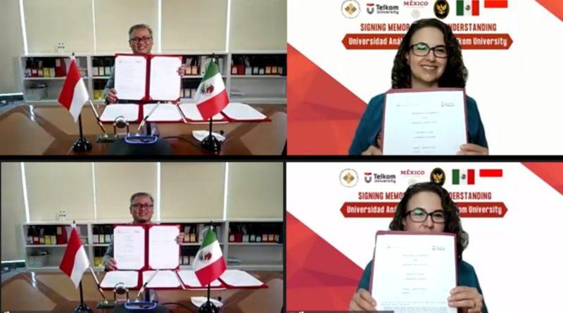 Universidad Anahuac Oaxaca di Meksiko dan Telkom University di Indonesia Tanda tangani MoU Kerjasama Pendidikan