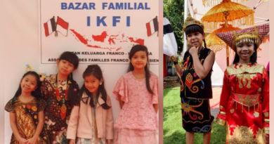 Merayakan Hari Batik Nasional Ala Indonesia Prancis