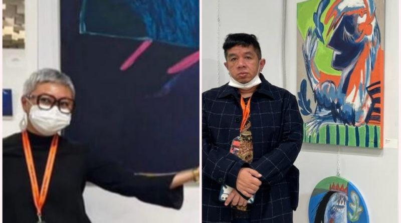 Seniman Tondi Hasibuan dan Cira Bhang Mewakili Indonesia Di Ajang Florence Biennale XIII