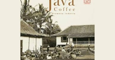 Cover buku the road to java coffee karya prawoto indarto.