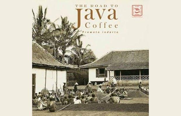 Cover buku the road to java coffee karya prawoto indarto.
