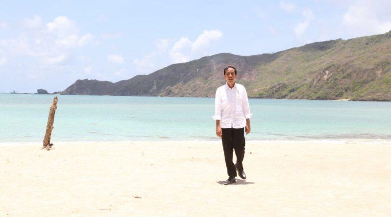 Jokowi di mahana